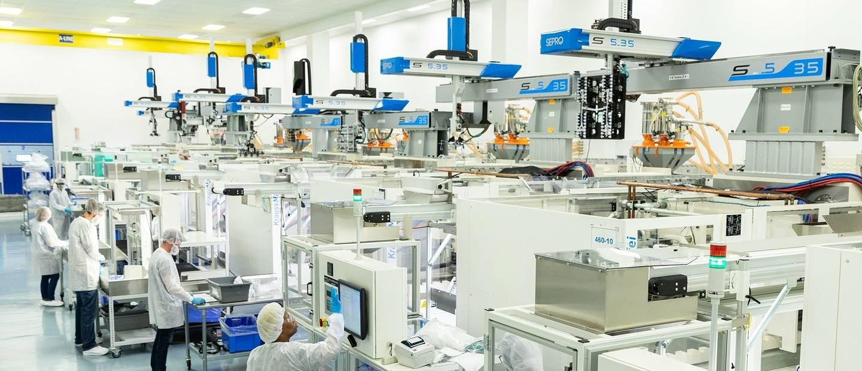Sepro机器人提高了医疗市场的生产率并改善了工作流程