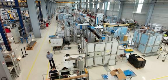 """Die Fabrik der Sepro Group, ein """"Schaufenster der Industrie der Zukunft""""!"""